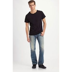 J brand Walker relaxed straight leg faded wash